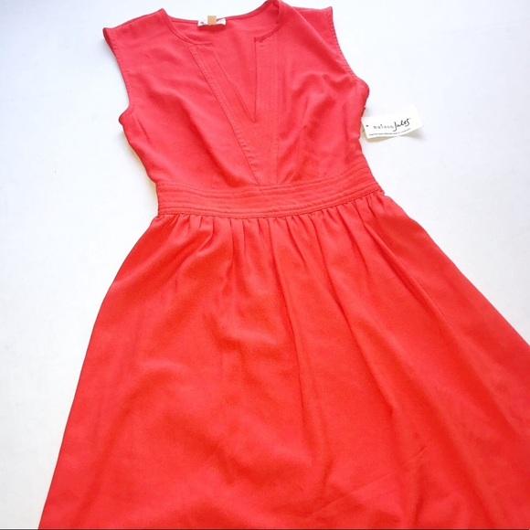 Maison Jules Dresses & Skirts - Maison Jules Rave Red Orange  Bora Bora Dress XXS